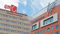 AMC Amsterdam Boorvrije plafondmontage